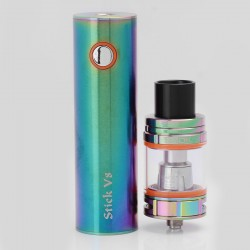 Authentic SMOKTech SMOK Stick V8 3000mAh Battery + TFV8 Big Baby Tank Starter Kit - Rainbow, 5ml, 0.3 Ohm, 24.5