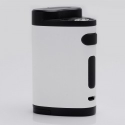 Authentic Eleaf Pico Dual 200W TC VW Variable Wattage Box Mod - White, 1~200W, 100~315'C / 200~600'F, 2 x 18650