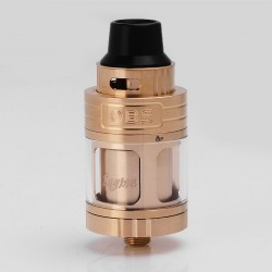 Authentic OBS Engine RTA Rebuildable Tank Atomizer - Golden, Stainless Steel, 5.2ml, 25mm Diameter