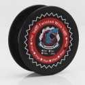 Authentic VapeThink Kanthal A1 30 AWG x 2 Twisted Heating Resistance Wire for RBA / RTA / RDA - 0.25mm x 2, 30m (100 Feet)