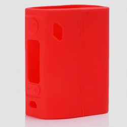 Authentic Vapesoon Protective Case Sleeve for Wismec Reuleaux RX300 Mod - Red, Silicone