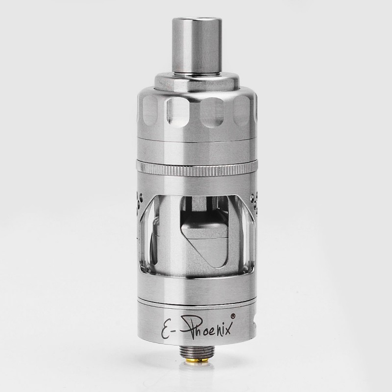 3863a308ce Hurricane V2 Style RTA Silver 22.5mm 2ml Rebuildable Dripping Atomizer