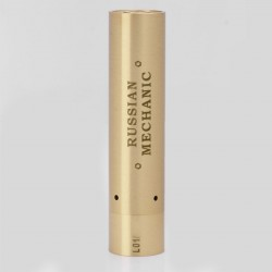 Russian Mechanic Style Mechanical Mod - Brass, Brass, 1 x 18650