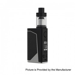 Authentic Joyetech eVic Primo 200W TC VW Box Mod with UNIMAX 25 Atomizer - Black + Silver, 1~200W, 5ml, 2 x 18650
