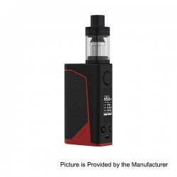 Authentic Joyetech eVic Primo 200W TC VW Box Mod with UNIMAX 25 Atomizer - Black + Red, 1~200W, 5ml, 2 x 18650