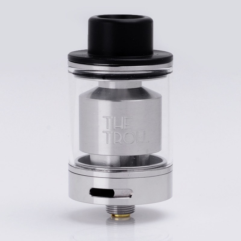 Authentic Wotofo The Troll Rta Silver 5ml 24mm Rebuildable