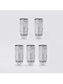 Authentic SMOKJOY Coil Heads for Air 50S Kit / Club 50 Micro Kit - Silver, 0.6 Ohm (15~40W) (5 PCS)