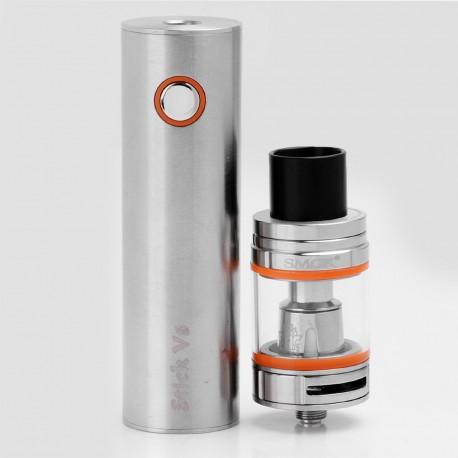 Authentic SMOKTech SMOK Stick V8 3000mAh Battery + TFV8 Big Baby Tank Starter Kit - Silver, 5ml, 0.3 Ohm, 24.5