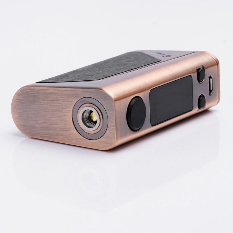 Батарейный мод Joyetech eVic VTwo Mini 75W без аккумулятора в комплекте с клиромайзером оранжевый