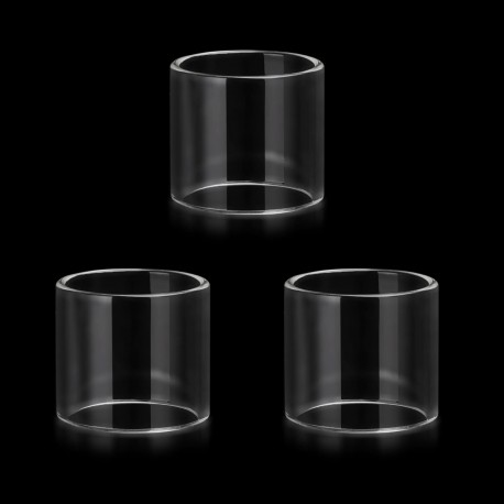 Authentic Vapesoon Replacement Glass Tank for SMOK TFV8 Baby - Transparent (3 PCS)