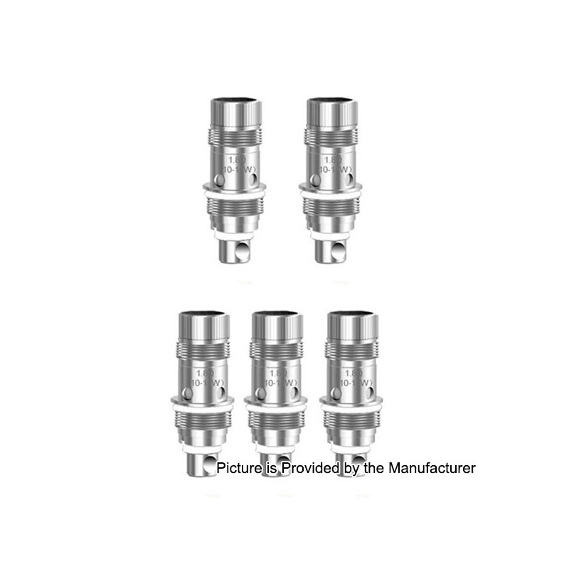 Authentic Aspire Nautilus 2 1 8 Ohm Replacement Coil Heads