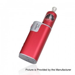 Authentic Aspire Zelos 50W 2500mAh TC VW Variable Wattage Mod + Nautilus 2 Tank Kit - Red, 1~50W, 2ml, 0.7 Ohm