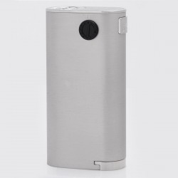 Authentic Wismec Noisy Cricket II-22 VV Variable Voltage Box Mod - Silver, 2~6V, 2 x 18650