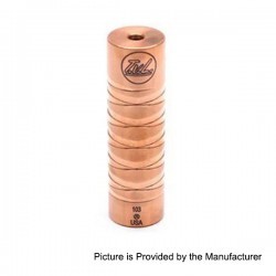 TVL Style Mechanical Mod - Copper, Copper, 1 x 18650