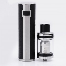 Authentic Joyetech UNIMAX 25 3000mAh Battery + Atomizer Starter Kit - Black + Silver, 5ml, 0.15 Ohm, 25mm Diameter