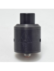 Authentic 528 Custom GOON RDA Rebuildable Dripping Atomizer - Black, Stainless Steel, 24mm Diameter