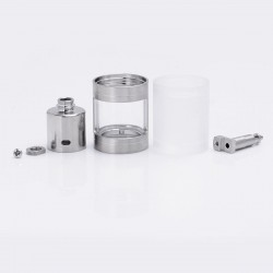 ShenRay Mouth to Lung MTL Nano Kit for SR V4 RTA - Silver