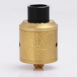 Authentic 528 Custom GOON RDA Rebuildable Dripping Atomizer - Brass, Brass, 24mm Diameter