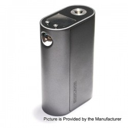 Authentic Digiflavor DF200 200W TC VW Variable Wattage Box Mod - Grey, Zinc Alloy, 5~200W, 200~600'F / 100~300'C, 3 x 18650