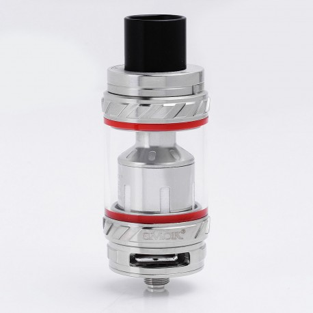 Authentic SMOKTech SMOK TFV12 Cloud Beast King Sub Ohm Tank Clearomizer - Silver, Stainless Steel + Glass, 0.12 Ohm, 6ml, 27mm