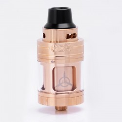 Authentic OBS Engine NANO RTA Rebuildable Tank Atomizer - Golden, Stainless Steel + Glass, 5.3ml, 25mm Diameter