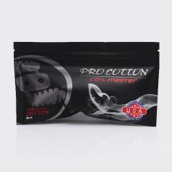 Authentic Coil Master Pro Cotton Organic Wick - White (3 PCS Pack)
