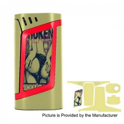 Self-adhesive Skin Sticker Wrap Cover for SMOKTech SMOK Alien Mod - Multicolored, PVC, Type 04