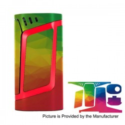 Self-adhesive Skin Sticker Wrap Cover for SMOKTech SMOK Alien Mod - Multicolored, PVC, Type 21