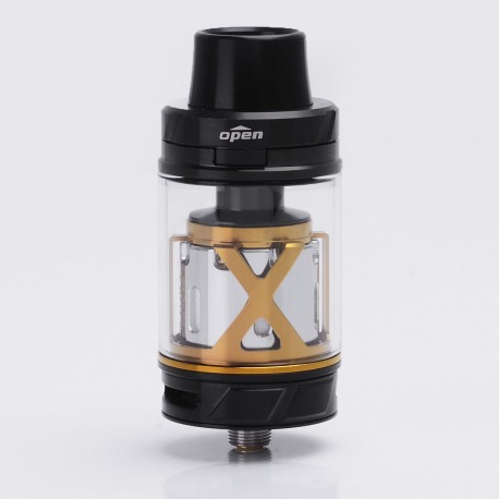 Authentic IJOY MAXO V12 Sub Ohm Tank Atomizer Supreme Kit - Black, Stainless Steel + Glass, 5.6ml, 0.1 Ohm, 28mm Diameter