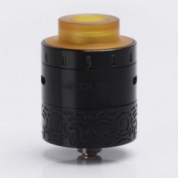 Authentic GeekVape Medusa RDTA Rebuildable Dripping Tank Atomizer - Black, Stainless Steel, 3ml, 25mm Diameter