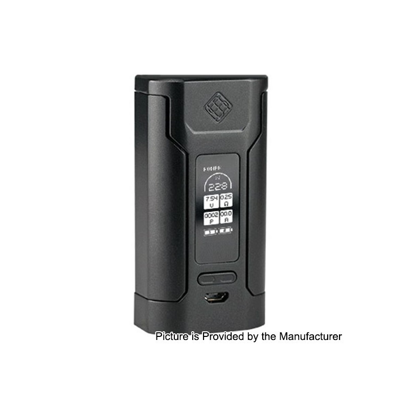 Authentic Wismec Predator 228 228w Black Tc Vw Variable