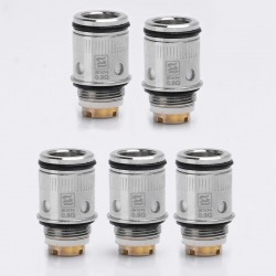 Authentic SXK Replacement Coil Head for Nebula Sword 50W Kit - Silver, Stainless Steel, 0.9 Ohm (5 PCS)