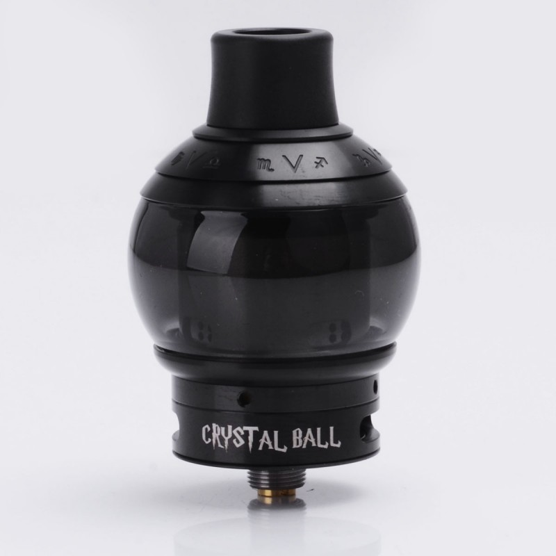 Authentic Fumytech Crystal Ball Black Ss 24mm 4 0ml