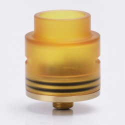 Goon LP Style RDA Rebuildable Dripping Atomizer - Brass, Brass + PEI, 24mm Diameter