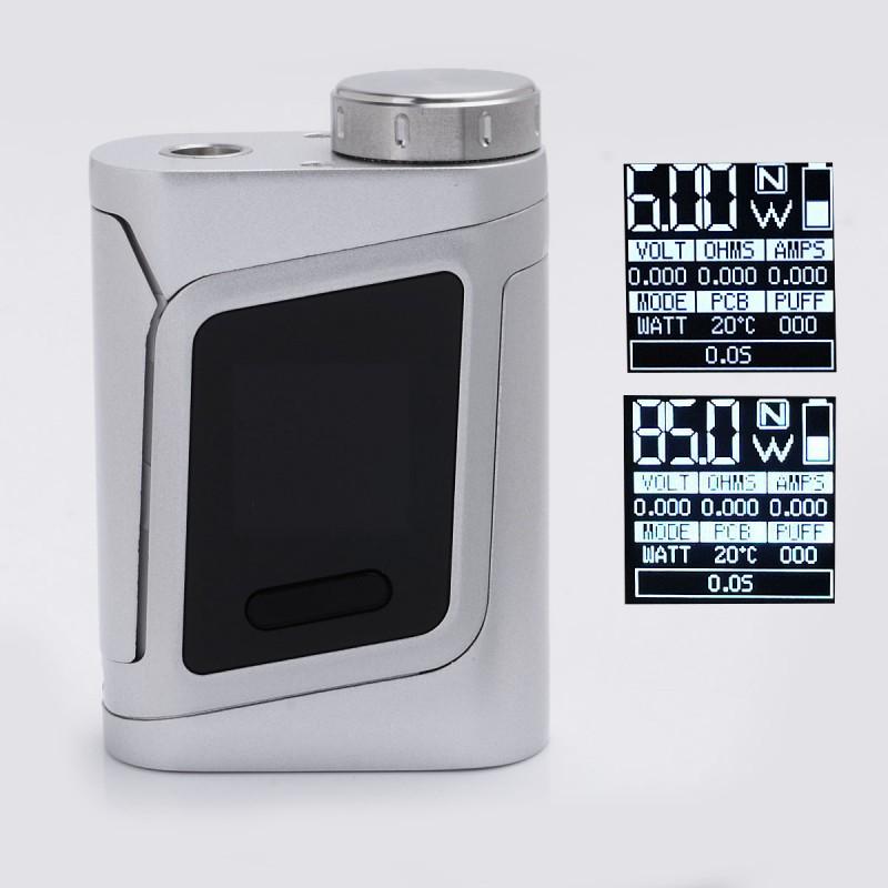 Authentic Smoktech Smok Alien Al85 85w Silver Tc Vw Mod