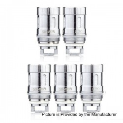 Authentic Sense Blazer Mini Coil Head - Silver, Stainless Steel, 0.2 Ohm (50~80W) (5 PCS)