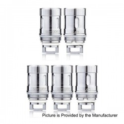 Authentic Sense Blazer Mini Coil Head - Silver, Stainless Steel, 0.4 Ohm (50~100W) (5 PCS)