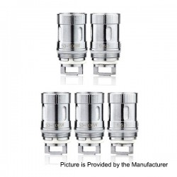 Authentic Sense Blazer Mini Coil Head - Silver, Stainless Steel, 0.6 Ohm (50~100W) (5 PCS)