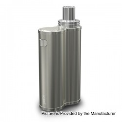 Authentic Eleaf iJust X 50W 3000mAh Battery + Atomizer Starter Kit - Silver, 7ml