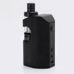 Authentic Eleaf ASTER RT 4400mAh 100W TC VW Variable Wattage Mod with MELO RT 22 Atomizer - Black, 1~100W, 3.8ml, 0.3 ohm
