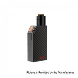 Authentic GeekVape Mech Pro Mechanical Box Mod + Medusa RDTA Atomizer Kit - Black, Zinc Alloy, 1 x 18650