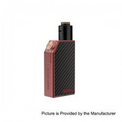 Authentic GeekVape Mech Pro Mechanical Box Mod + Medusa RDTA Atomizer Kit - Red, Zinc Alloy, 1 x 18650