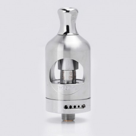 Authentic Aspire Nautilus 2 Tank Atomizer Clearomizer - Silver, Stainless Steel + Glass, 2ml, 0.7 Ohm, 22mm Diameter