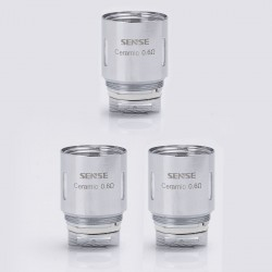 Authentic Sense Blazer 200 Replacement Ceramic Coil Heads - 0.6 Ohm (50~100W) (3 PCS)