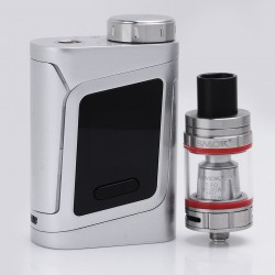 Authentic SMOKTech SMOK Alien Baby-AL85 85W TC VW Variable Wattage Mod + TFV8 Baby Beast Tank Kit - Silver, 1~85W, 1 x 18650