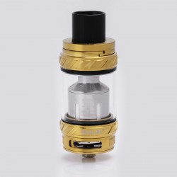 Authentic SMOKTech SMOK TFV12 Cloud Beast King Sub Ohm Tank Clearomizer - Golden, Stainless Steel + Glass, 0.12 Ohm, 6ml, 27mm