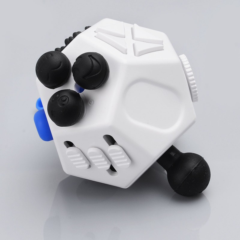 Holy Crystal 12 Sides White Functional Fidget Cube