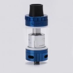 Authentic Sense Blazer 200 Sub Ohm Tank - Blue + Transparent, Stainless Steel + Pyrex Glass, 6ml, 0.6 ohm / 0.2 ohm