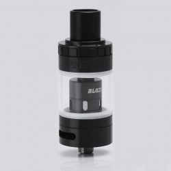 Authentic Sense Blazer Mini Sub Ohm Tank - Black + Transparent, Stainless Steel + Pyrex Glass, 3.6ml, 0.6 ohm / 0.4 ohm