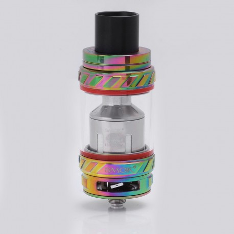 Authentic SMOKTech SMOK TFV12 Cloud Beast King Sub Ohm Tank Clearomizer - Rainbow, Stainless Steel + Glass, 0.12 Ohm, 6ml, 27mm